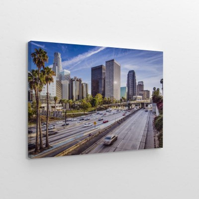Obraz na płótnie Downtown Los Angeles, Kalifornia Cityscape